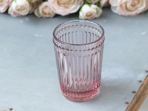 Ib laursen Tandborstmugg i rosa pressglas
