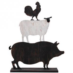 Farm Animal, Dekoration i trä - Miljögården