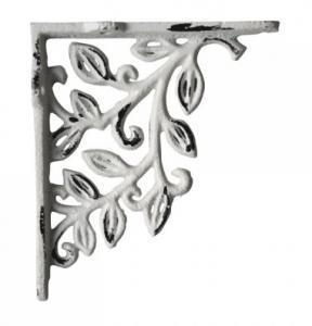 Chic Antique Konsol, antikvit gjutjärn 12,5x14 cm