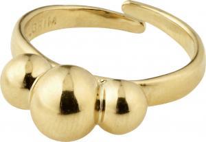 ERNA ring m. dekor guldpläterad – Pilgrim