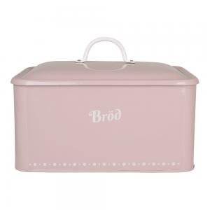 Brödbox i plåt, rosa - Gladys