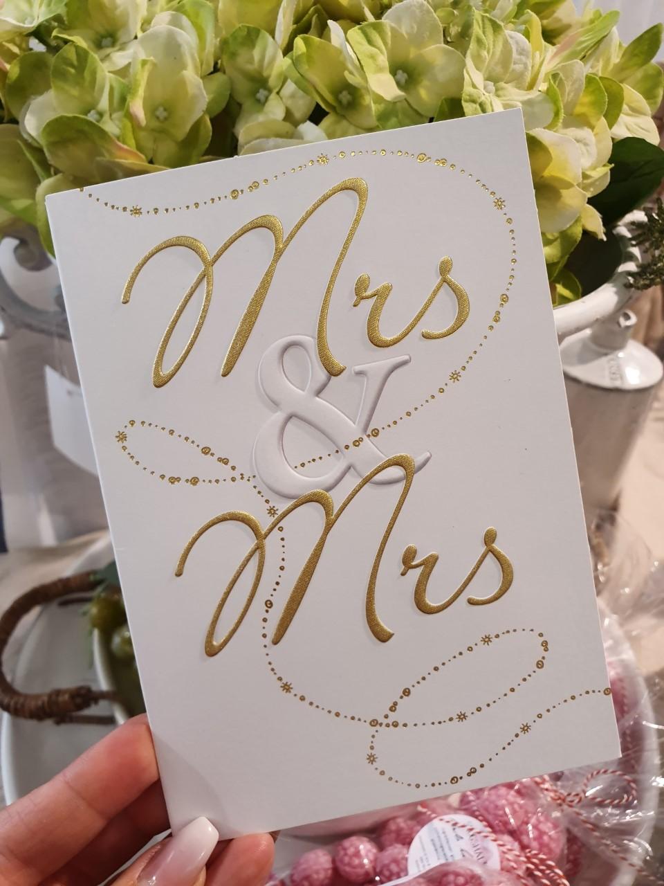 Mrs & Mrs, kort från Pictura