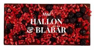 Hallon & Blåbär, Mörk Choklad 70% - Pralinhuset