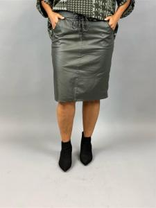 Stretchig kjol, Army vaxad (Pillan) - Mix by Heart