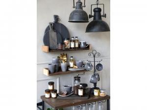"""Chic Antique Lampa """"Factory"""" - industristil 26cm"""