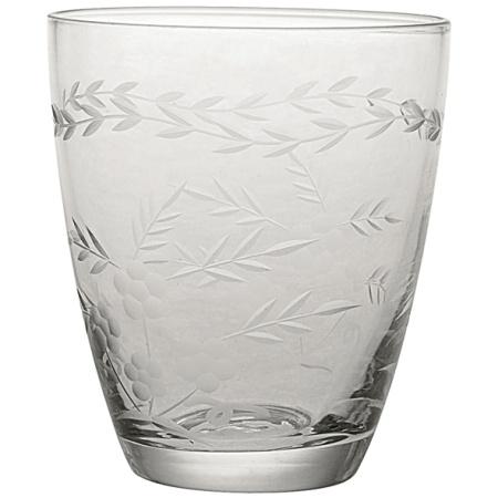 Greengate Vattenglas med gravyr