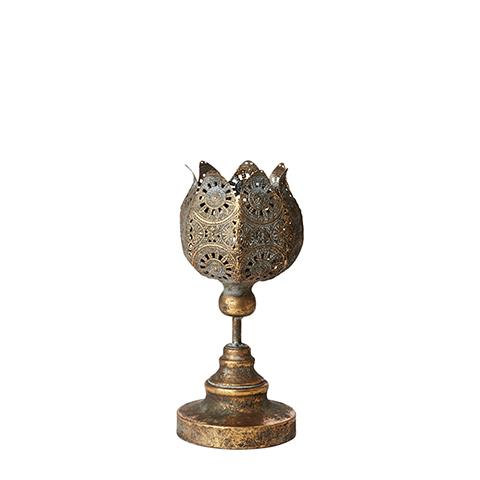 CHANTAL Ljusstake - Guld 30cm