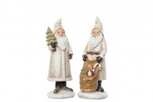 Tomte Old med julgran, vintage - A lot