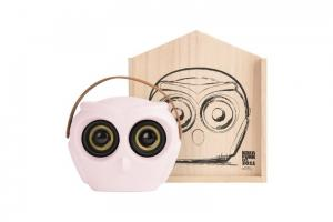 KREAFUNK aOwl Högtalare Dusty pink