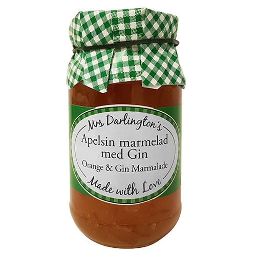 Apelsinmarmelad med Gin - Mrs Darlington