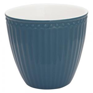 Lattemugg Alice ocean blue - Greengate