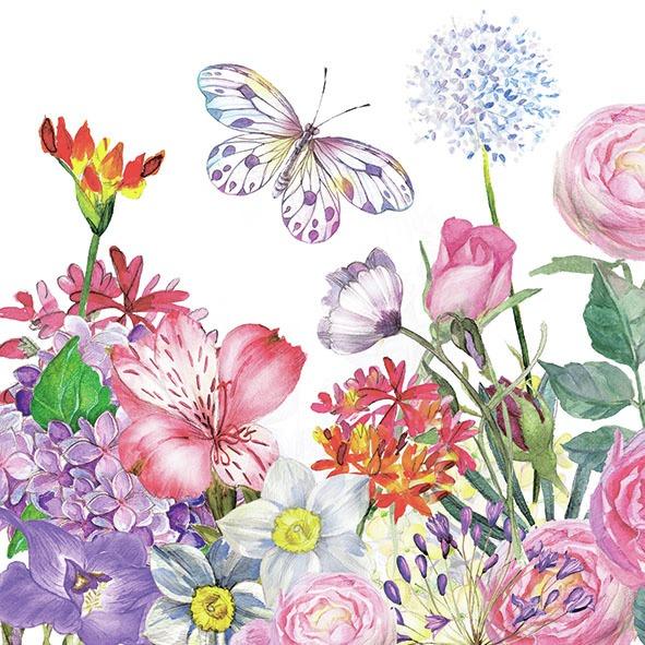 Ambiente Servetter - Flowergarden