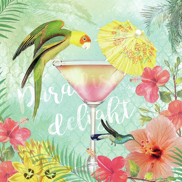 Ambiente Servetter - Paradise Delight