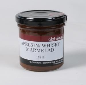 Marmelad apelsin/whiskey 175g - Olof Viktors