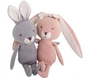 Bukowski Kanin med hängande öron, rosa