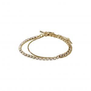 Armband - Compassion, Guldpläterad, Kristall - Pilgrim