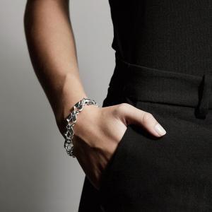 Armband Hollis Silverpläterad – Pilgrim