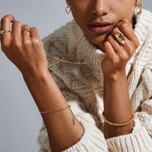 Armband Mabelle Guldpläterat – Pilgrim