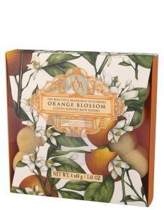 Bath Fizzser Orange Blossom/Apelsinblomma, 4x30g (AAA)