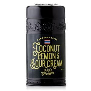 BBQ Gypsy Smoke – Barbequekrydda – Coconut, lemon & sour cream