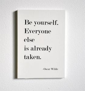 Tavla, Be yourself (A5) - Mellow Design