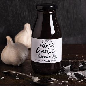 Black Garlic Ketchup från Hawkshead Relish