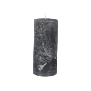 Blockljus Grå Ø7xH15 cm, Cote Nord - Affari