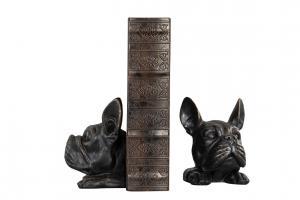 Bokstöd Bulldog Svart - A Lot