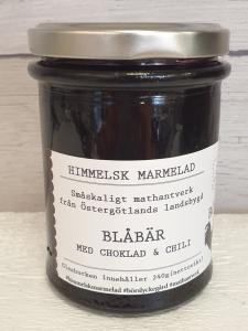 Marmelad, Blåbär, Choklad & Chili - Börslycke Gård