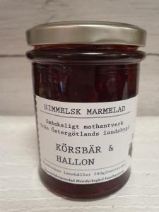 Marmelad, Körsbär & Hallon - Börslycke Gård