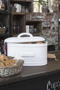 Brödbox i porslin, Vit - Ib Laursen    - I LAGER MARS -