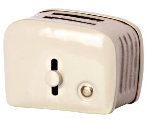 Miniature toaster & bread, off white - Maileg    KOMMER I NOV/DEC