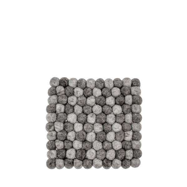 Byxelkrok, Grytunderlägg Kvadratiskt i Ljusgråa toner- Storefactory
