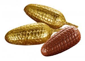 Pinjekotte i guldfolie - Caffarel