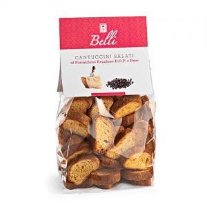 Cantuccini snacks, Parmesan & Svartpeppar - Biscotti