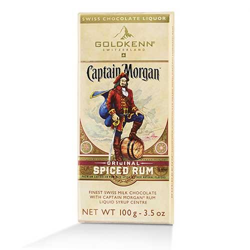 Captain Morgan - Fylld choklad med rom