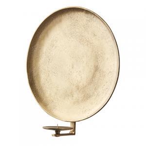 CARTER Väggljushållare (M) Rå antik mässing - Affari