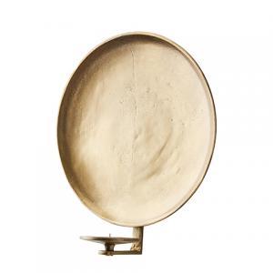 CARTER Väggljushållare (S) Rå antik mässing - Affari