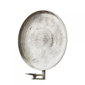CARTER Väggljushållare (S) Rå antik silver - Affari