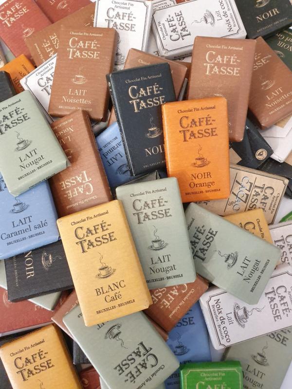 Chokladbit, Café Tasse