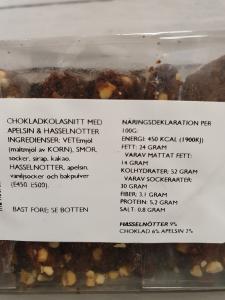 Chokladkolasnitt med apelsin & hasselnötter - Olof Viktors