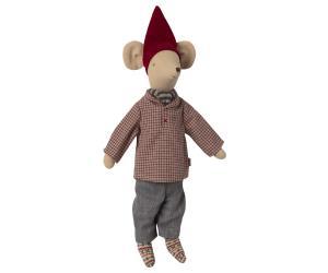 Christmas clothes, Medium mouse - Boy - Maileg     LEV OKT/NOV