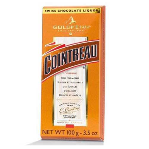 Cointreau - Fylld choklad (apelsinlikör)