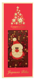 Ljus ekologisk choklad, Christmas Tomte           KOMMER I OKT/NOV