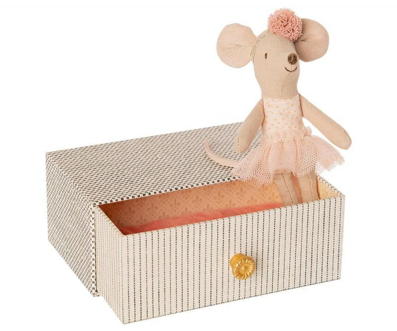 Maileg, DANCING MOUSE IN DAYBED, LITTLE SISTER