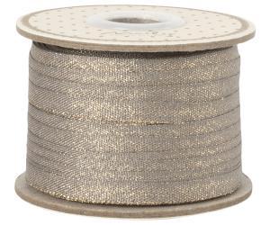 Dark stone guld vävt bomullsband - Maileg    LEV NOV/DEC
