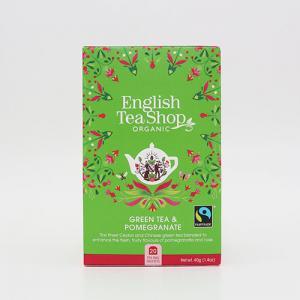 Grönt te Granatäple EKO, te från Enlish Tea Shop