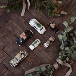 Dekoration, MINI Xmas car, Krom - House Doctor