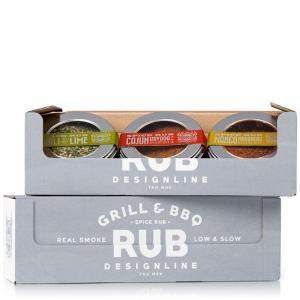 Designline 3-pack spice rub