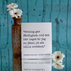 Disktrasa, ÖVNING - Erika Tubbin